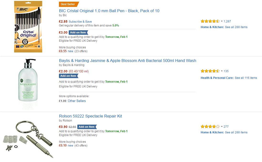 qu es add on item en amazon entre medios y marcas. Black Bedroom Furniture Sets. Home Design Ideas